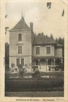 """CPA FRANCE 38 """" St Etienne de St Geoirs, Villa Pourcieux'"""