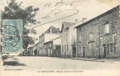 """CPA FRANCE 38 """" La Verpillère, Maisons neuves et gendarmerie"""""""