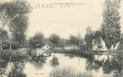 "CPA FRANCE 38 "" La Verpillère, Le lac"""