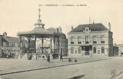 "CPA FRANCE 59 ""Rosendael, le Kiosque"""