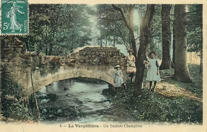 """CPA FRANCE 38 """" La Verpillère, Un endroit champêtre"""""""