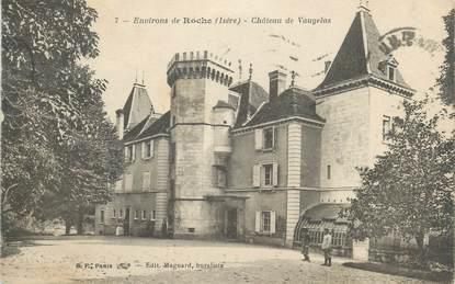 """CPA FRANCE 38 """" Environs de Roche, Le Château de Vaugelas"""""""