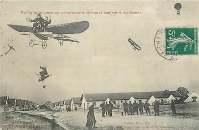 "CPA FRANCE 38 "" Chambaran, Vue du camp"""