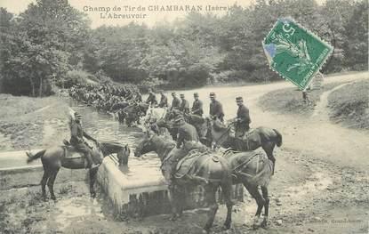 "CPA FRANCE 38 "" Chambaran, L'abreuvoir au champ de tir"""