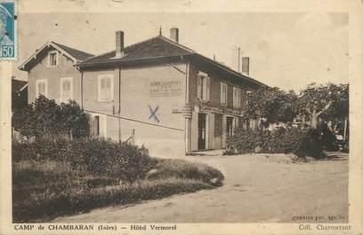 "CPA FRANCE 38 "" Chambaran, Hôtel Vermorel"""