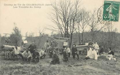 """CPA FRANCE 38 """" Chambaran, Les Youddis du camp"""""""