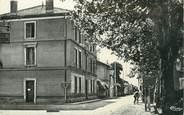 """38 Isere CPSM FRANCE 38 """" Marcilloles, La grande rue et la Poste"""""""