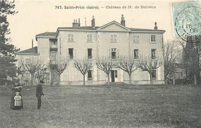 """CPA FRANCE 38 """" St Prim, Château de M. de Boissieu"""""""