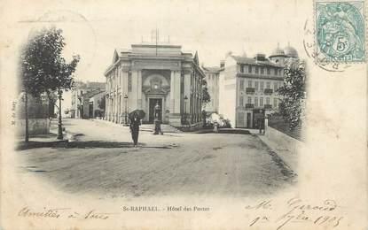 """CPA FRANCE 83 """" St Raphaël , Hôtel des Postes"""""""