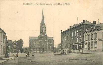 """CPA FRANCE 59 """"Hautmont, Place Sainte Anne"""""""