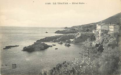 "CPA FRANCE 83 ""Le Trayas, Hôtel Sube"""