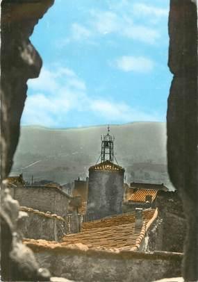 """CPSM FRANCE 83 """"Grimaud, La tour de l'Horloge et son campanile"""""""