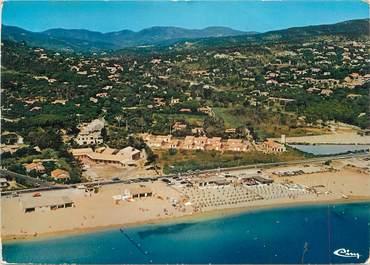 """CPSM FRANCE 83 """" La Nartelle, La plage du village de vacances des Heures Claires"""""""
