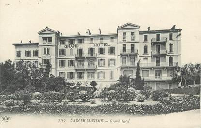 "CPA FRANCE 83 "" Ste Maxime, Grand Hôtel"""