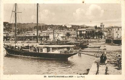 "CPA FRANCE 83 "" Ste Maxime, Le port"""
