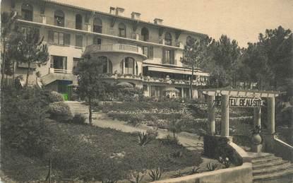 """CPA FRANCE 83 """" Ste Maxime, Hôtel Beau Site"""""""