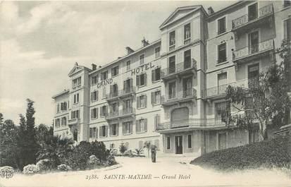 """CPA FRANCE 83 """" Ste Maxime, Le Grand Hôtel"""""""