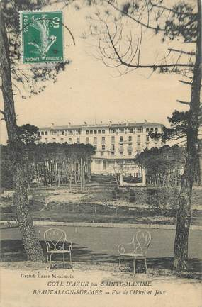 "CPA FRANCE 83 "" Beauvallon, Vue du Golf Hôtel"""