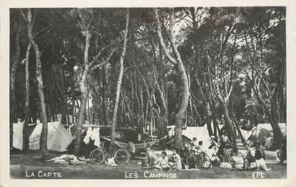 """CPSM FRANCE 83 """" La Capte, Les campings"""""""