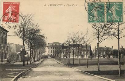 "CPA FRANCE 59 ""Fourmies, Place Verte"""