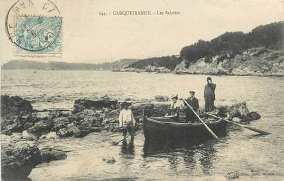 "CPA FRANCE 83 "" Carqueiranne, Les Salettes"""