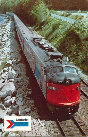 CPSM TRAIN / USA / AMTRAK