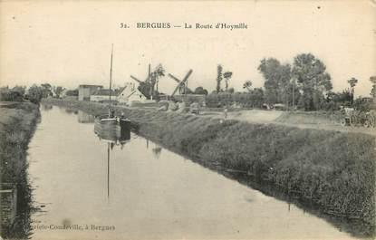 """CPA FRANCE 59 """"Bergues, la Rte d'Hoymille"""""""