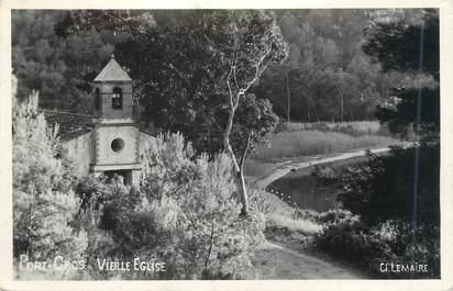 """CPSM FRANCE 83 """"Ile de Port Cros, Vieille église"""""""