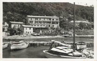 """CPSM FRANCE 83 """"Ile de Port Cros, L'Hostellerie Provençale"""""""