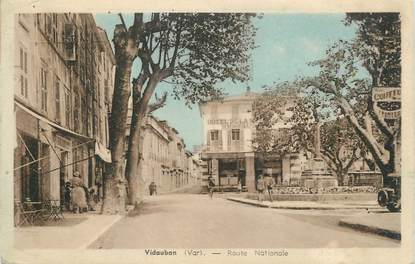 "CPA FRANCE 83 "" Vidauban, Route Nationale"""