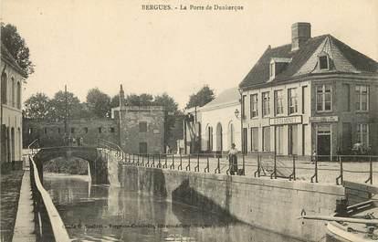 "CPA FRANCE 59 ""Bergues, la Porte de Dunkerque"""