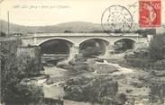 """83 Var CPA FRANCE 83 """" Les Arcs sur Argens, Le pont sur l'Argens"""""""