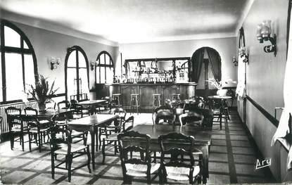 """CPSM FRANCE 83 """" Lorgues, La brasserie de l'Hôtel Moderne et du Parc"""""""