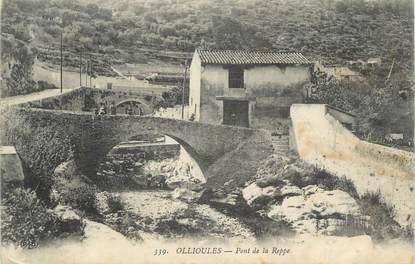 """CPA FRANCE 83 """" Ollioules, Pont de la Reppe"""""""