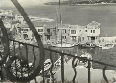 """CPSM FRANCE 83 """" Ile de Bendor, Vue sur le port"""""""