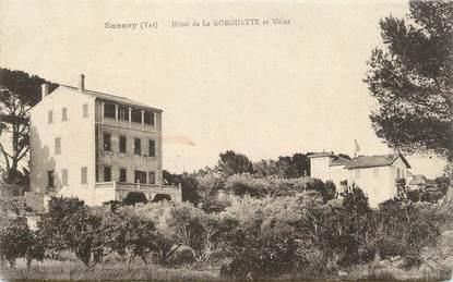"""CPA FRANCE 83 """" Sanary sur Mer, Hôtel de la Gorguette et les villas"""""""