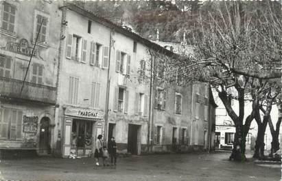 """CPSM FRANCE 83 """" Meounes , L'ancienne Mairie et le monument aux morts""""'"""