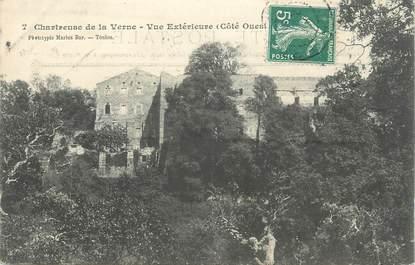 """CPA FRANCE 83 """" Chartreuse de la Verne, Vue extérieure"""""""