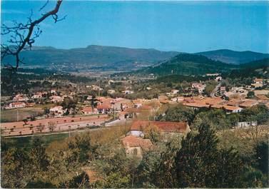 """CPSM FRANCE 83 """"Rocbaron, Vue générale du village"""""""