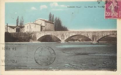 """CPA FRANCE 83 """"Vinon, Le pont du Verdon"""""""