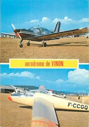 """CPSM FRANCE 83 """"Vinon, Aérodrome"""""""