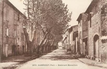 """CPA FRANCE 83 """" Garéoult, Boulevard Marseillais"""""""