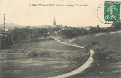 """CPA FRANCE 38 """" St Victor de Cessieu, Le village, vue générale"""""""