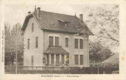 "CPA FRANCE 38 "" Dolomieu, Villa Cartan"""
