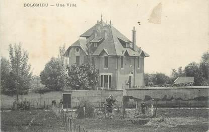 """CPA FRANCE 38 """" Dolomieu, Une villa"""""""