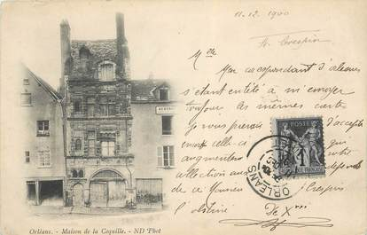 """CPA FRANCE 45 """" Orléans, Maison de la Coquille"""""""