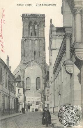 """CPA FRANCE 37 """" Tours, La Tour Charlemagne"""""""