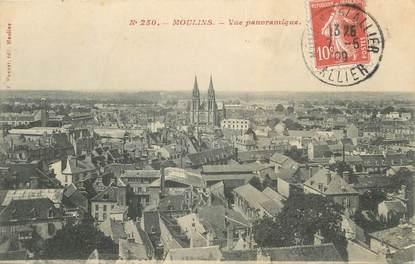 "CPA FRANCE 03 "" Moulins, Vue panoramique"""