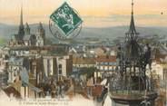 """21 Cote D'or CPA FRANCE 21 """" Dijon, Le Jacquemart de Notre Dame et l'Abside de Ste Bénigne"""""""