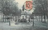"""02 Aisne CPA FRANCE 02 """" Soissons, La fontaine de la Grande Place"""""""